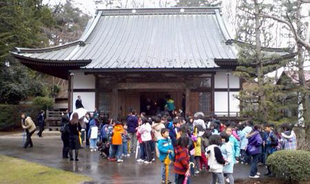 長延寺墓前祭