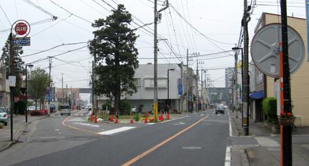 駅前通り整備