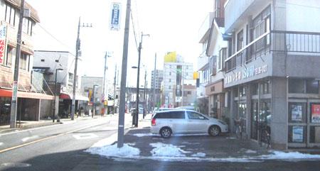 駅前通りセットバック