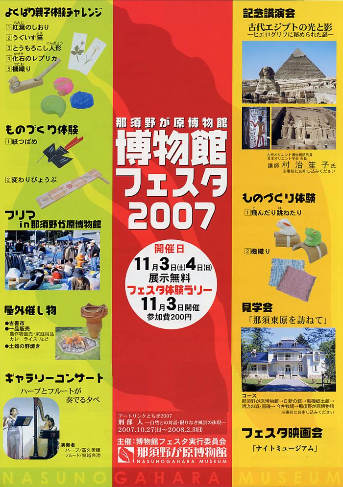 博物館フェスタ2007